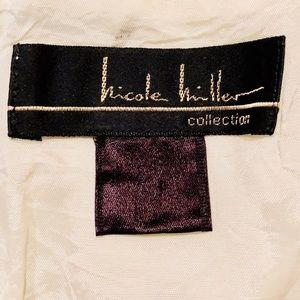 Nicole Miller Dresses - Nicole Miller Collection Beaded Silk Dress M